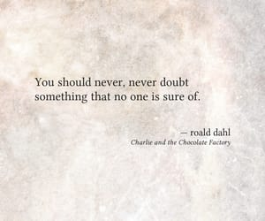 article, charlie and the chocolate factory, and quote image