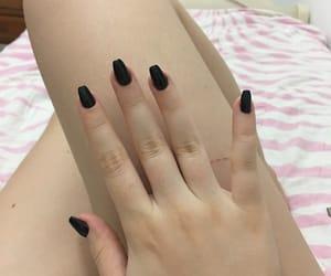 acrylic, black, and look image