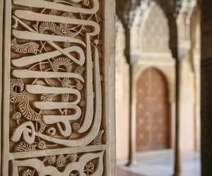 architecture, islamic, and nature image