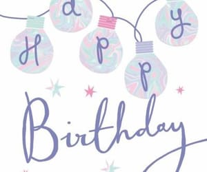 happy birthday and luces image