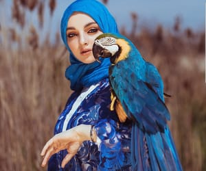beauty, chechen, and hijab image