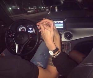 couple, car, and luxury image