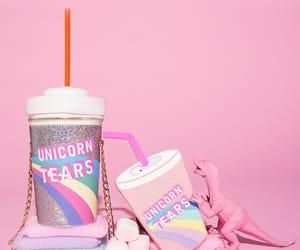 pink, unicorn, and pastel image