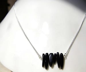 beaded necklace, minimalist, and necklaces image