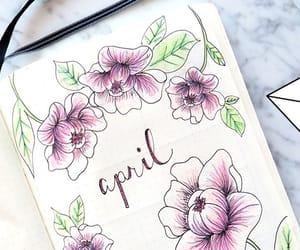 bullet journal april image