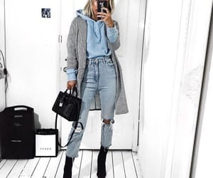 aesthetic, casual, and coat image