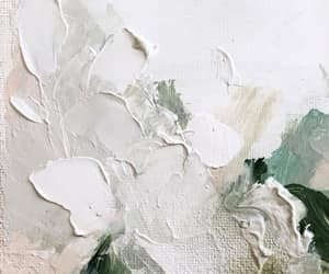art, green, and white image