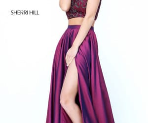 beaded prom dress and two piece dresses image