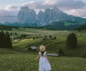 girl, nature, and photography image