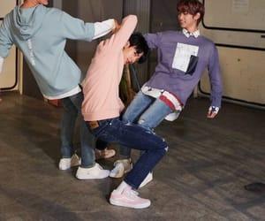 felix, Minho, and hyunjin image