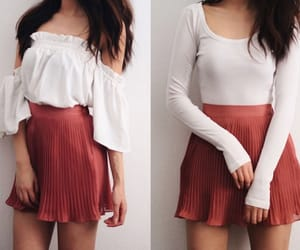 clothes, fashion, and long sleeves image