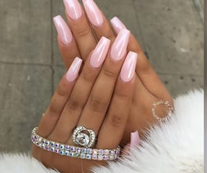 nails, beauty, and diamond image