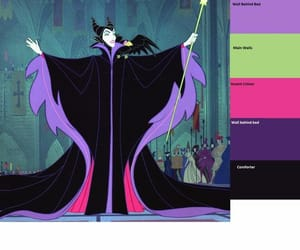 color, palettes, and disney image
