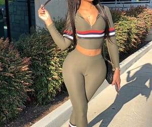 fashion, fit, and outfit image