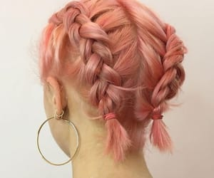 hair, aesthetic, and braids image