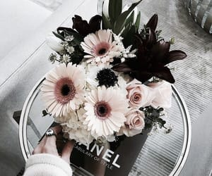 chanel, design, and flowers image