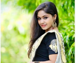 fashion, indian saree, and south indian actress image