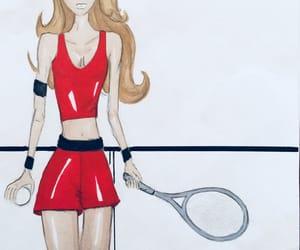 fashion, sport, and drow image