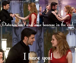 couple, dance, and gryffindor image