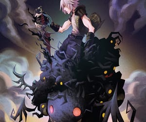 games, heartless, and kingdom hearts image