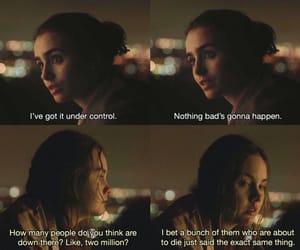 movie, quote, and lily collins image