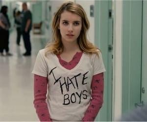 emma roberts, boy, and hate image