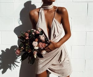 fashion, flowers, and goals image