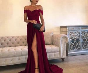 fashion, dress, and prom dress image