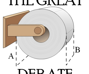 debate, truth, and drawing image