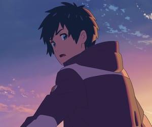 your name and anime image