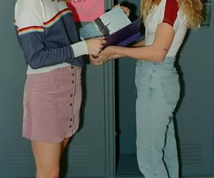 girl, 80s, and 90s image