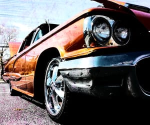 altered, grunge, and muscle cars image
