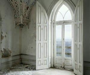 abandoned, aesthetic, and door image