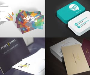 business card, business card design, and business cards image