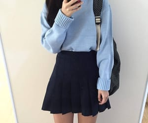 beauty, korean, and outfit image