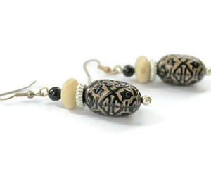 etsy, light weight, and dangle earrings image
