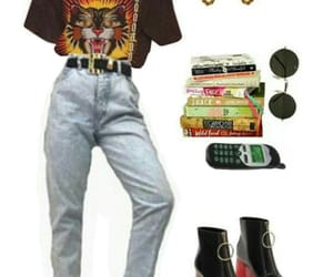 belt, books, and earrings image