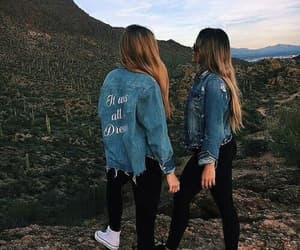 friends, nature, and friendship image