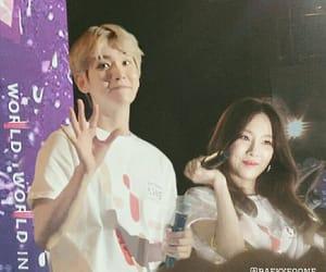 exo, baekyeon, and baekhyun image