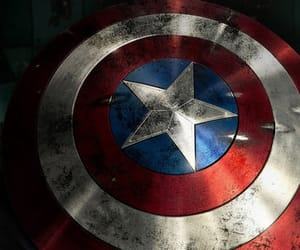 captain america, shield, and steve rogers image