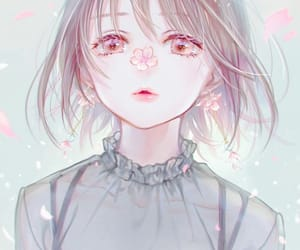 anime, cute, and anime girl image