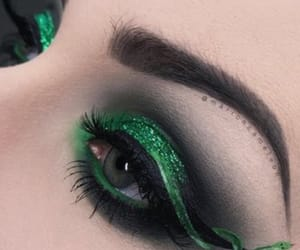 eyes, inspiration, and green image