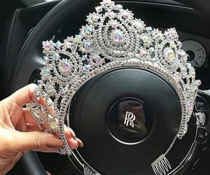 accessories, beauty, and crown image