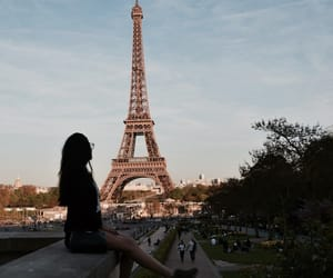 city, france, and girlfriend image