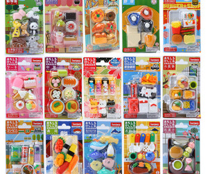 erasers, food, and japanese image