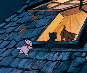 the aristocats, disney, and gif image