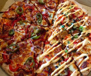pizza, yummy, and forever hungry image