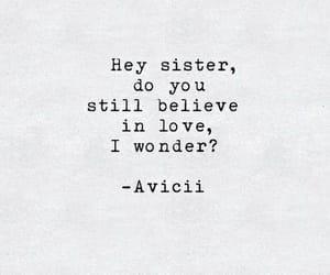 quotes, avicii, and Lyrics image