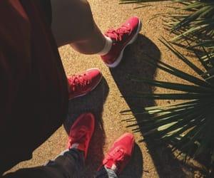 air jordan, couple, and fashion image