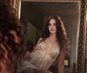 mirror, hair, and indie image